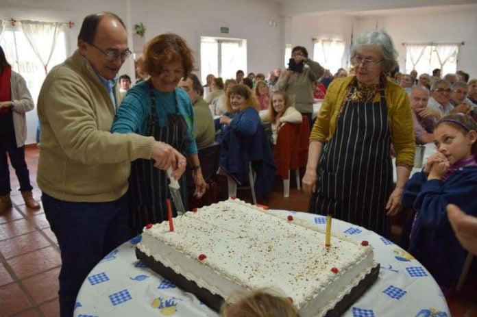 Almuerzo 26º aniversario del Centro de Jubilados Saavedra